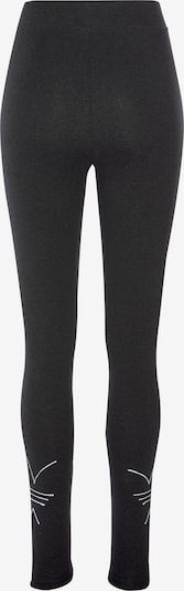 ADIDAS ORIGINALS Leggings en negro moteado / blanco, Vista del producto