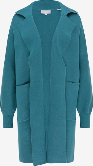 Usha Knitted coat in petrol, Item view