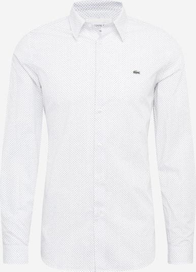 LACOSTE Hemd in weiß: Frontalansicht