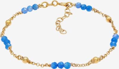 ELLI Bracelet en bleu / or, Vue avec produit