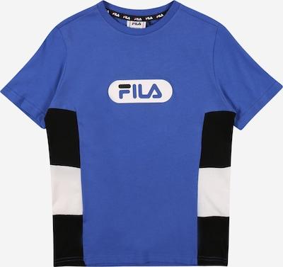 Tricou FILA pe albastru / negru / alb, Vizualizare produs