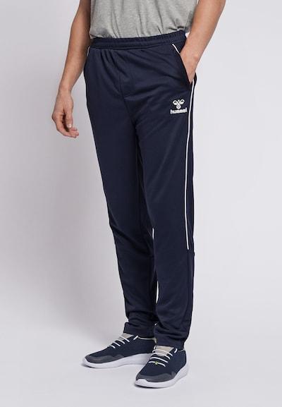 Hummel Jogginghose in blau, Modelansicht