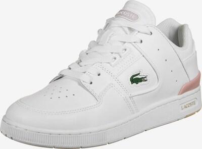 LACOSTE Sneaker ' Court Cage ' in grün / pastellpink / weiß, Produktansicht
