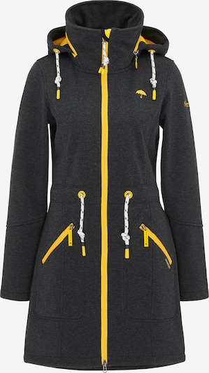 Schmuddelwedda Functional coat in Yellow / Dark grey, Item view