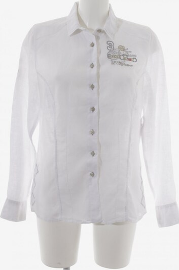 L'Argentina Hemd-Bluse in L in beige / silber, Produktansicht