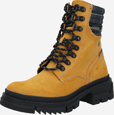 Dockers by Gerli Boots in gold yellow / black, Item view