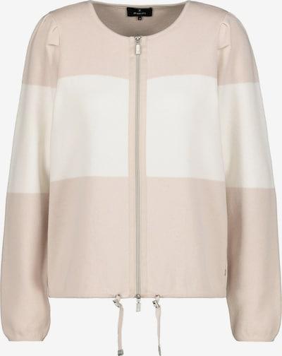 monari Adīta jaka, krāsa - smilškrāsas / balts, Preces skats