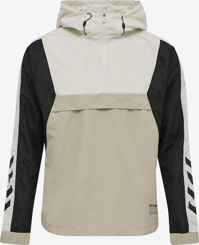 Hummel Sporta jaka 'Alvin' kapučino / melns / gandrīz balts, Preces skats