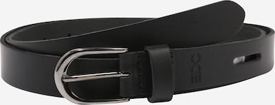 EDC BY ESPRIT Gürtel in schwarz / silber, Produktansicht