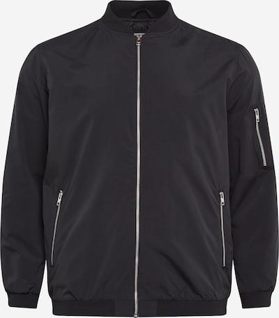 Jack & Jones Plus Tussenjas in de kleur Zwart, Productweergave