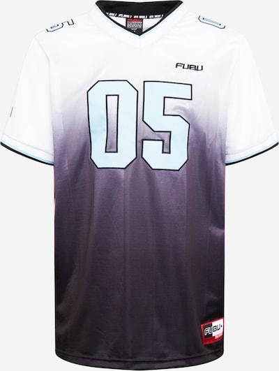 FUBU Sportshirt in hellblau / schwarz / weiß, Produktansicht