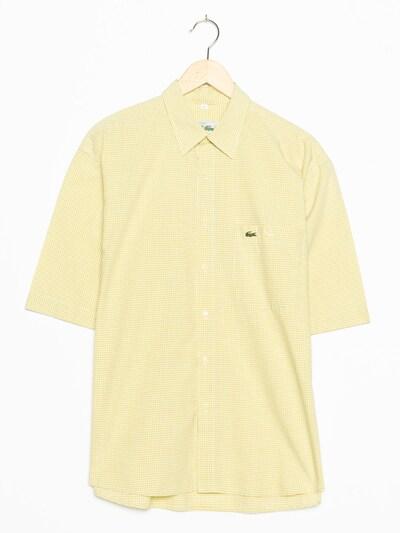 LACOSTE Hemd in XL/XXL in gelb, Produktansicht