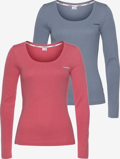 KangaROOS Shirt in blau / rosa, Produktansicht
