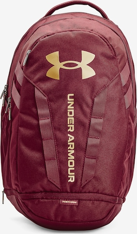 UNDER ARMOUR Rucksack 'Hustle' in Rot