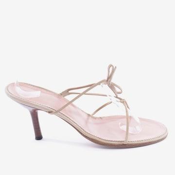 Gucci Sandals & High-Heeled Sandals in 42 in Beige