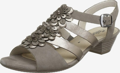 GABOR Strap Sandals in Silver grey, Item view