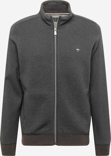 FYNCH-HATTON Zip-Up Hoodie in Dark grey / Silver, Item view