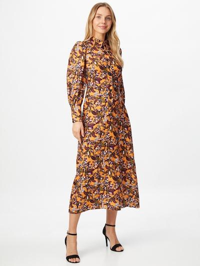Closet London Kleid in mischfarben / orange, Modelansicht