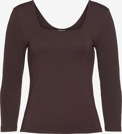 LASCANA Shirt in braun, Produktansicht