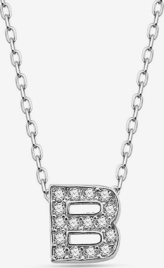 Dkeniz Silberkette 'BUCHSTABENKETTE B' in silber, Produktansicht