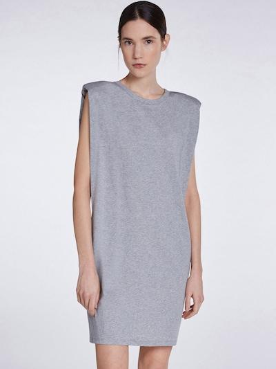 SET Kleid in grau, Modelansicht