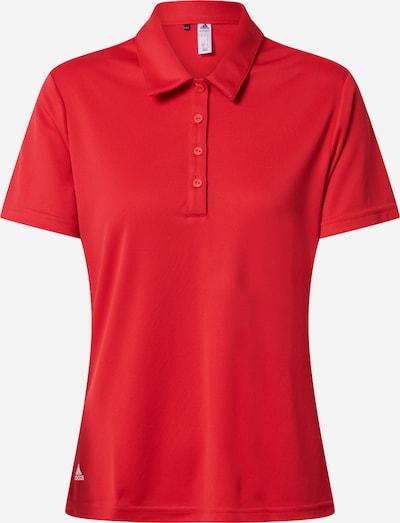 adidas Golf Camiseta funcional en rojo / blanco, Vista del producto