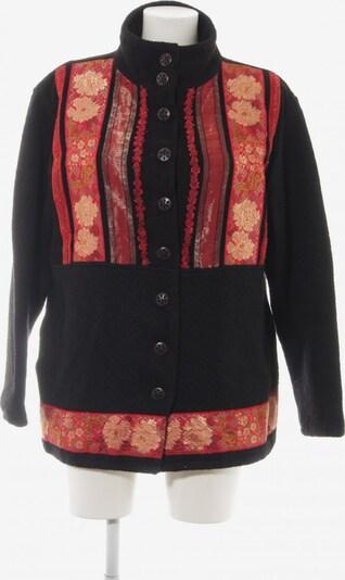 Sportalm Wolljacke in L in rot / schwarz, Produktansicht