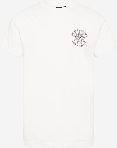 DEUS EX MACHINA T-Shirt 'Estrelar' en noir / blanc, Vue avec produit