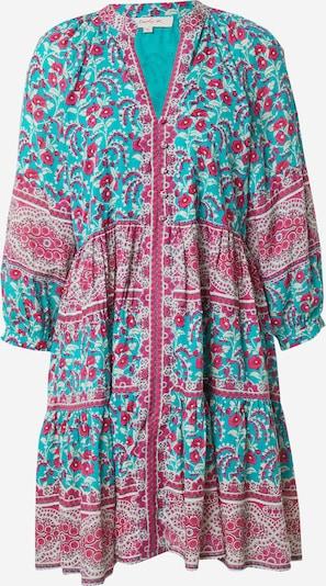 Derhy Рокля тип риза 'SAVOIE ROBE' в тюркоазен / розово / бяло, Преглед на продукта