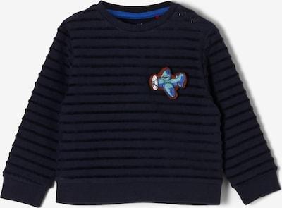 s.Oliver Sweatshirt in navy / himmelblau / rot / weiß, Produktansicht