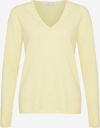 Cashmere Stories Pullover in pastellgelb, Produktansicht