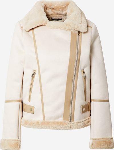 Fashion Union Tussenjas 'Vivienne' in de kleur Beige / Rosa, Productweergave