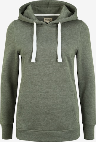 Oxmo Sweater 'Olive' in Green