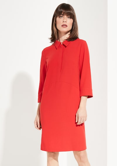 COMMA Kleid in rot: Frontalansicht