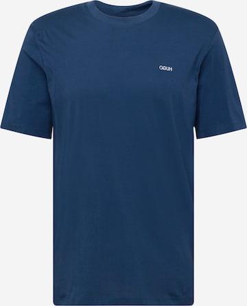 HUGO Тениска 'Dero212' в синьо