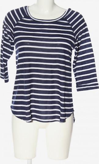 Janina Schlupf-Bluse in S in blau / weiß, Produktansicht