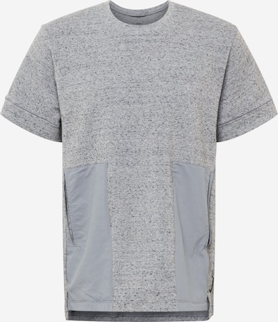 NIKE Sportshirt in grau / dunkelgrau / graumeliert, Produktansicht