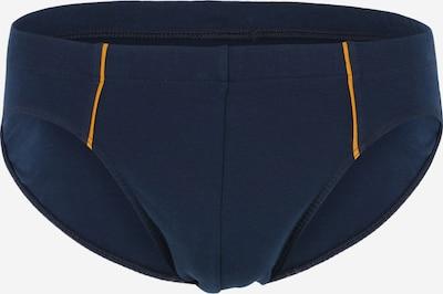SCHIESSER Slip in dunkelblau / orange, Produktansicht