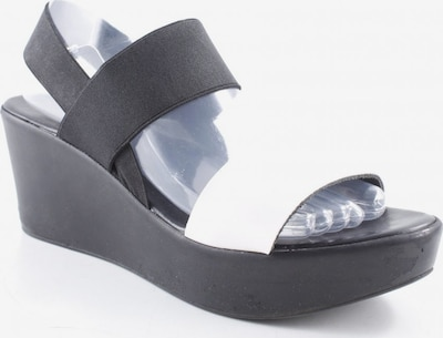 POLLINI Sandals & High-Heeled Sandals in 41 in Black / White, Item view