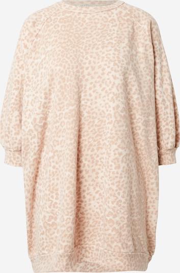 Ragdoll LA Sweat-shirt en mastic / beige clair, Vue avec produit