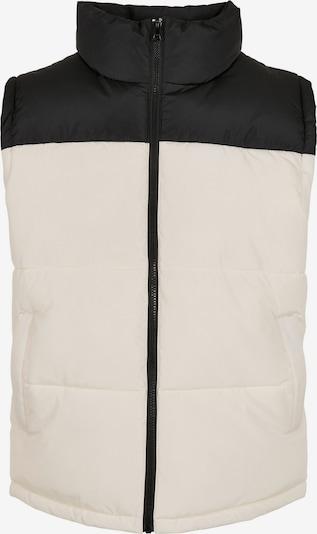 Urban Classics Bodywarmer in de kleur Zwart / Wit, Productweergave