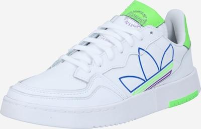 ADIDAS ORIGINALS Baskets basses en bleu / vert fluo / violet / blanc, Vue avec produit