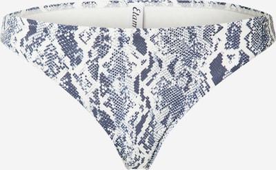 sötétkék / fehér ETAM Bikini nadrágok, Termék nézet