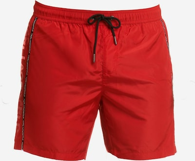 Karl Lagerfeld Badehose ' Sport ' in rot, Produktansicht