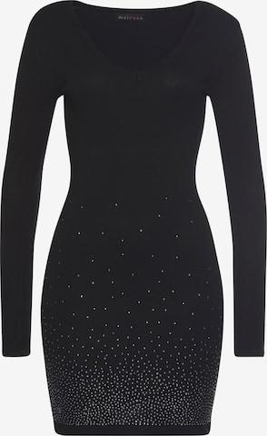 MELROSE Kleid in Schwarz