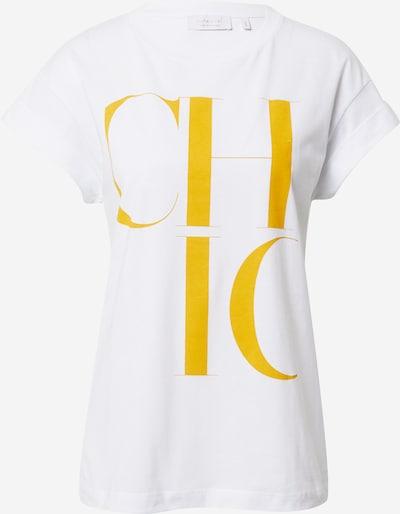 Rich & Royal T-Shirt in gelb / weiß, Produktansicht