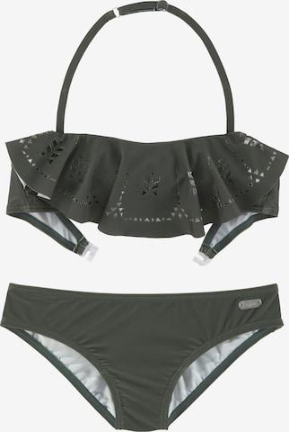 BUFFALO Bikini in Grün