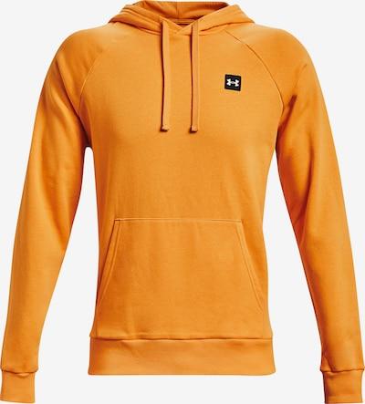 UNDER ARMOUR Athletic Sweatshirt 'Rival' in Orange / Black / White, Item view