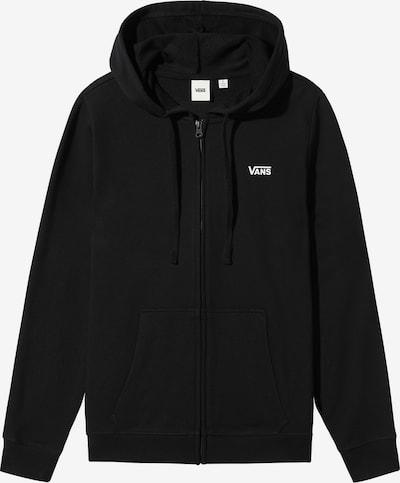 VANS Sweatjacke in schwarz / weiß, Produktansicht