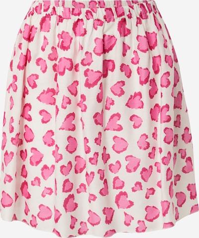 Zwillingsherz Rock 'Tabea' in pink / rosa / weiß, Produktansicht